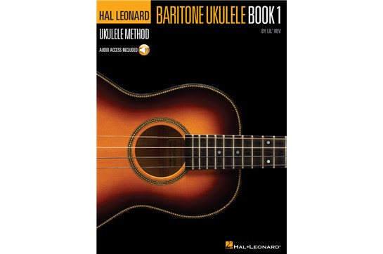 Hal Leonard Baritone Ukulele Method Book 1 w/Online Audio