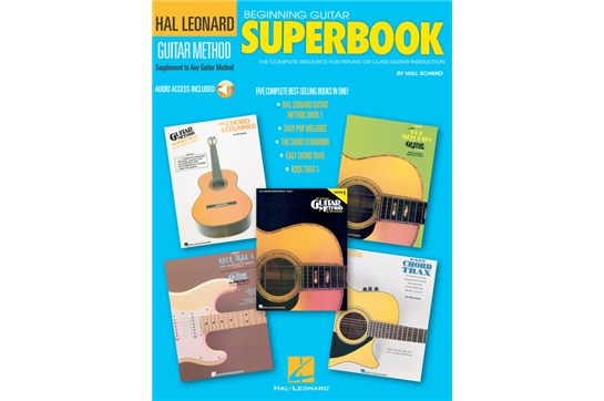 Hal Leonard Guitar Superbook wCD
