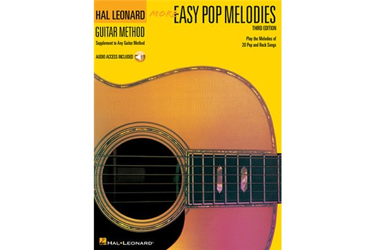 More Easy Pop Melodies w/CD
