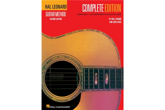 Hal Leonard Guitar Method, Second Edition – Complete Edition (book only)