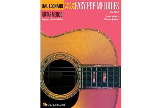 Even More Easy Pop Melodies Guitar (3rd Edition)
