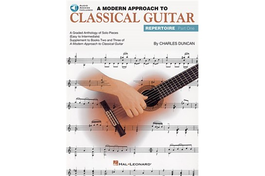 A Modern Approach to Classical Guitar Repertoire – Part 1