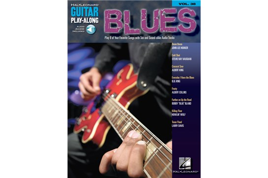 Blues Guitar Play-Along Volume 38