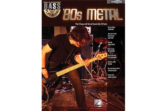 80s Metal Bass Play Along Vol 16