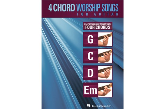 4-Chord Worship Songs for Guitar