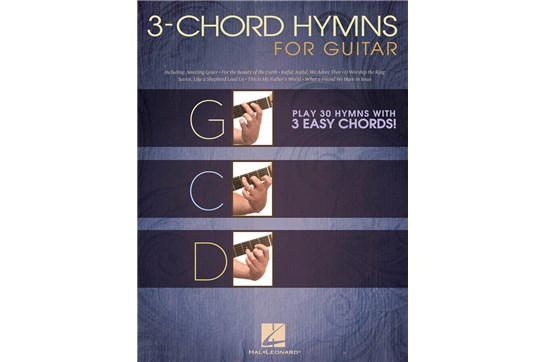 3-Chord Hymns for Guitar