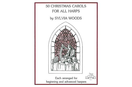 50 Christmas Carols for All Harp