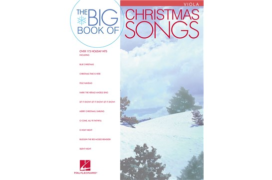 Big Book of Christmas Songs (Viola)