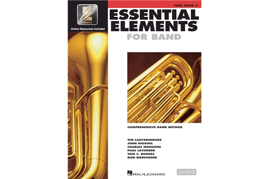 Essential Elements Tuba Lesson Book 2