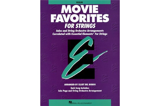 Essential Elements for Strings Movie Favorites (String Bass)