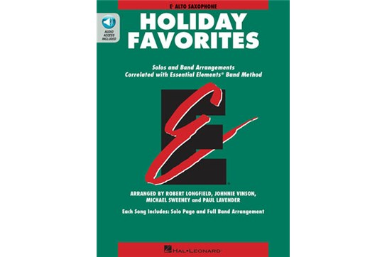 EE Holiday Favorites (Alto Sax)