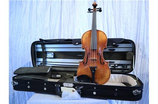 USED 4/4 Size Violin P. Mathias Kriesler Outfit