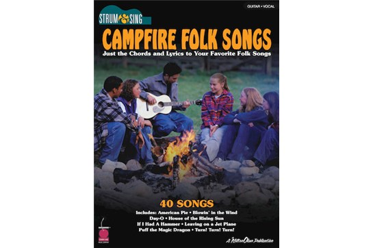 Campfire Folk Songs Easy Guitar