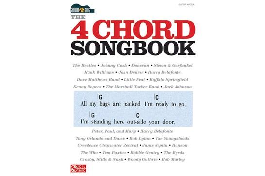 4 Chord Songbook Strum & Sing
