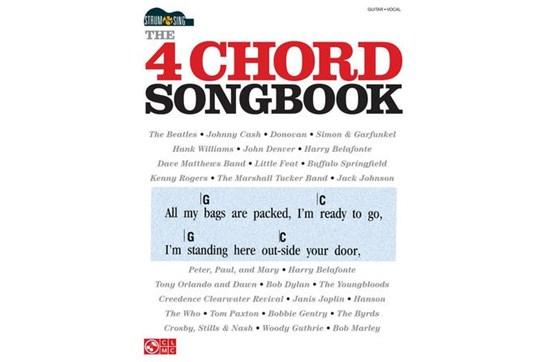 The 4 Chord Songbook - Strum & Sing