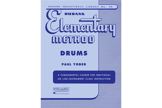 Rubank Elementary Method - Drums