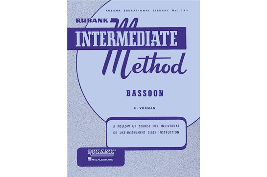Rubank Intermediate Method - Bassoon