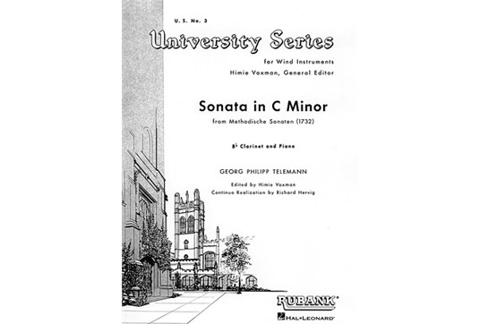 Sonata in C Minor for Clarinet