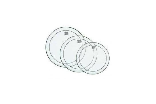 Remo Pinstripe Tom Drum Head Pack - Standard