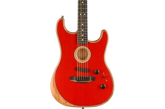 Fender American Acoustasonic™ Stratocaster® - Dakota Red