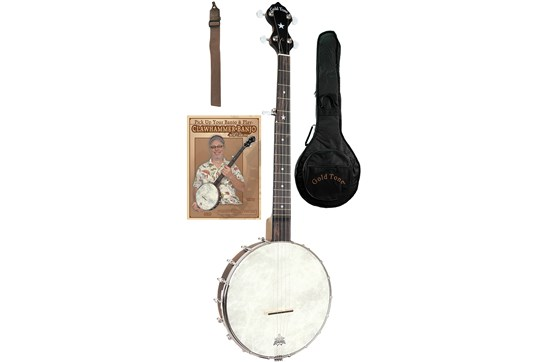 Gold Tone 5 String A Scale Cripple Creek Clawhammer Openbacjk Banjo