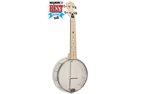 Gold Tone Little Gem Diamond Banjolele