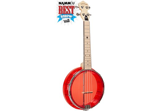 Gold Tone Little Gem Ruby Banjolele
