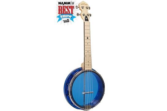 Gold Tone Little Gem Sapphire Banjolele