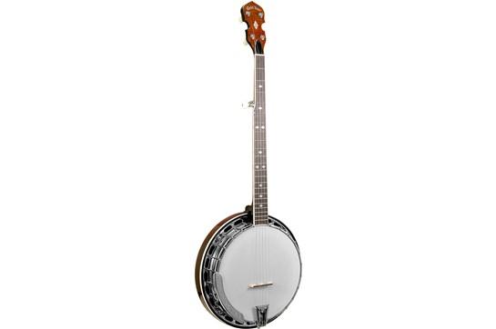 Gold Tone 5 String Bluegrass Resonator Wide Neck w/Flange BG-250FW Banjo