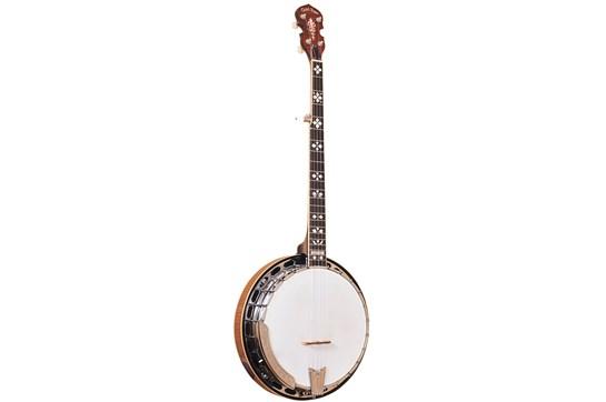 Gold Tone 5 String Orange Blossom Resonator Plus Tony Pass Banjo