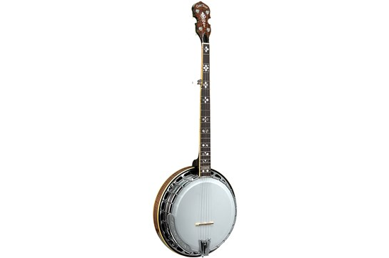 Gold Tone 5 String Orange Blossom Resonator Arch Top Banjo