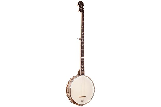 Gold Tone 5 String Long Neck Old Tone Openback Tubaphone Style Banjo