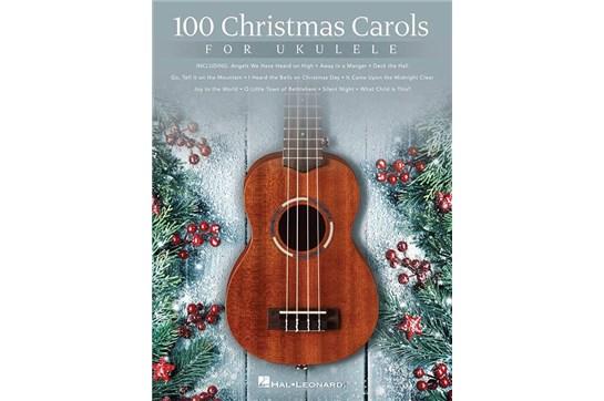 100 Christmas Carols for Ukulele Music Book