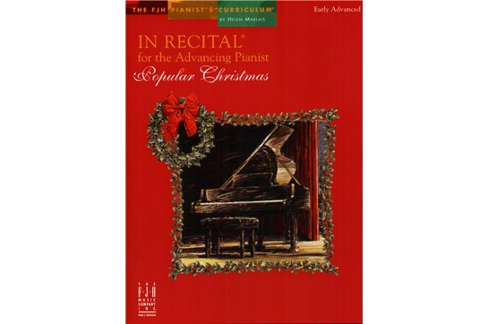 In Recital for the Advancing Pianist - Popular Christmas