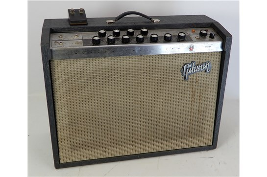Gibson Invader GA 30 RVT w/ Footswitch 1960's Grey - Used
