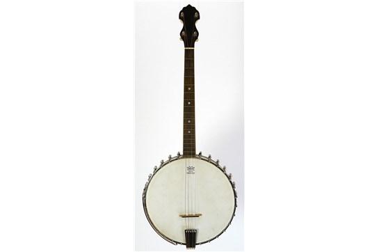 Vega Little Wonder Tenor Banjo w/ OHSC 1930's Natural /Nickel - Used
