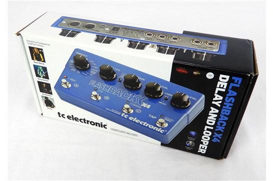 TC Electronic Flashback X4 Delay Blue