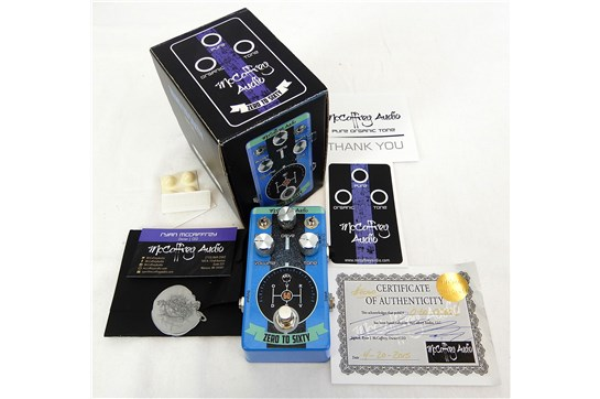 McCaffrey Audio Zero to Sixty Drive w/ Box & all Packing Contents Blue - Used