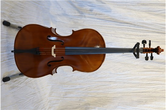 USED 4/4 Size Calin Wulter Apprentice Deluxe Cello