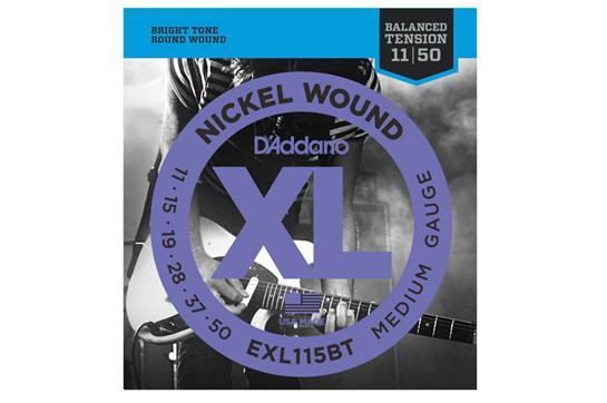 D'Addario EXL115BT Nickel Medium Electric Strings .011-.050