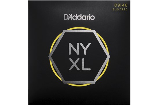 D'Addario NYXL0946 Super Light Top/Regular Bottom Electric Strings