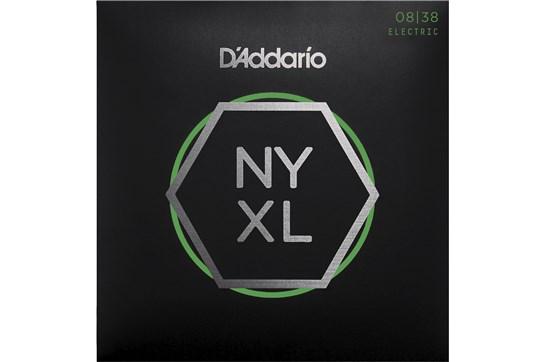 D'Addario NYXL0838 Extra Super Light Electric Strings