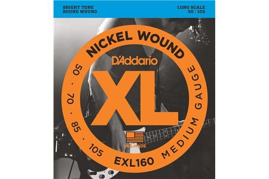 D'Addario EXL160 Medium Long-Scale Bass Strings