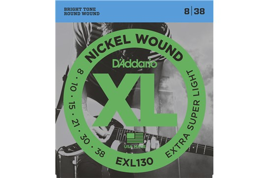 D'Addario EXL130 Extra-Super Light Electric Strings