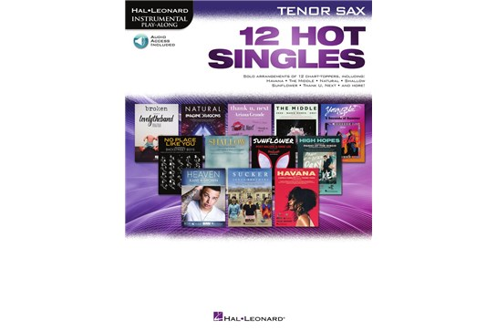 12 Hot Singles for Tenor Sax