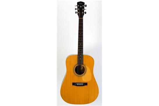 Vega Dreadnought Acoustic 1960-1970's Natural - Used