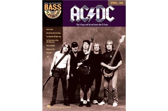 AC/DC Bass Play-Along Volume 40