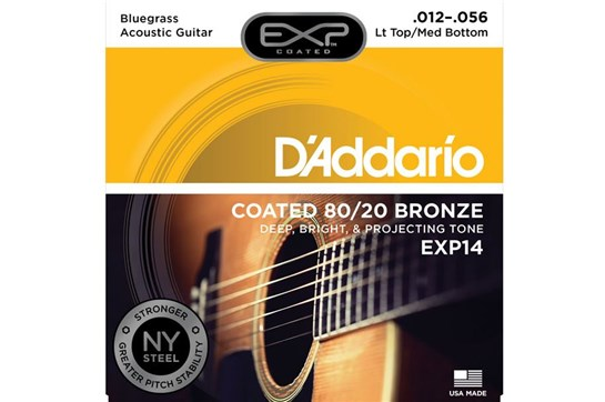 D'Addario EXP14 Light Top/Medium Bottom Acoustic Strings