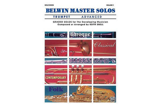 Belwin Master Solos (Trumpet) Volume 1 Advanced
