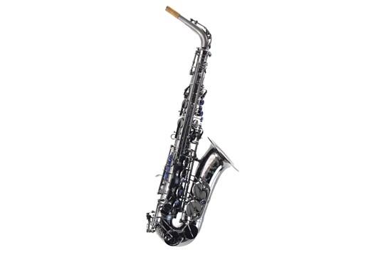 Used Cannonball A5-20 20th Anniversary Alto Saxophone (Black Ice)